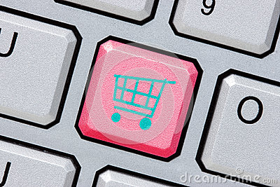 Online shopping or internet shop concepts