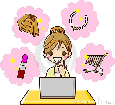 Online Shopping at PC