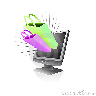 Online store shopping mania