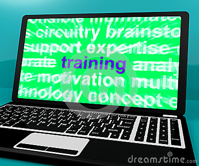 Online Training Computer Message