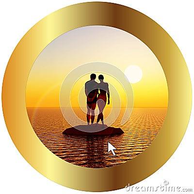 Online travel for honeymoon