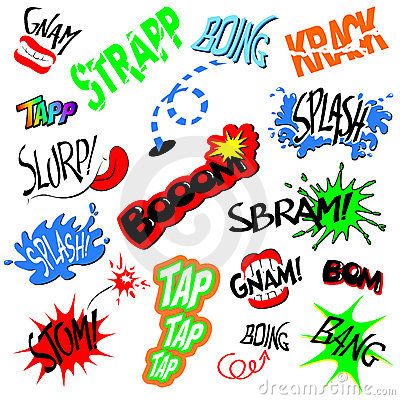 how to use onomatopoeia in a story
