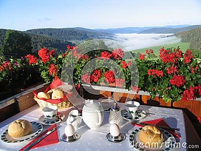 Ontbijt in paradijs