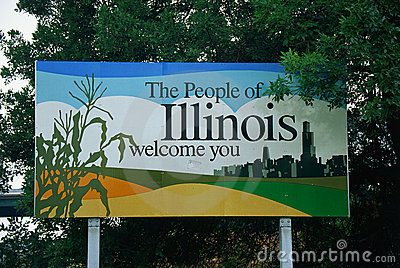 Onthaal aan het teken van Illinois