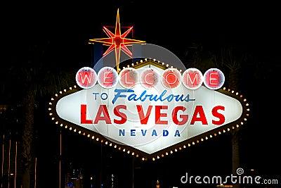 Onthaal aan Las Vegas