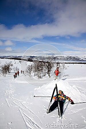 Ontspan in de sneeuw