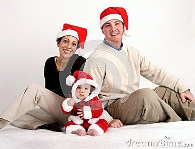 Onze eerste Kerstmis