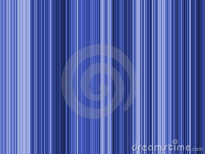 Op Art Blue Stripes