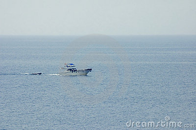 Op de volle zee