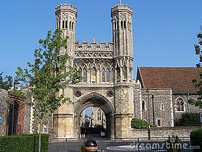 Opactwa augustine Canterbury święty