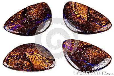 Opal boulder set