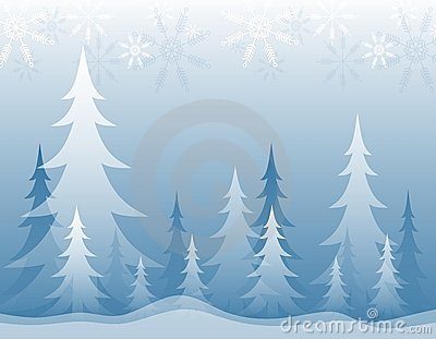 Opaque Winter Forest Blue