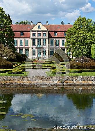 Opatow palace in Gdansk Oliwa.