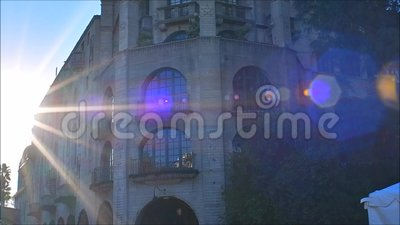 Opdrachtherberg stock footage