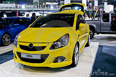 Opel Corsa Coupe - Front - MPH Editorial Image