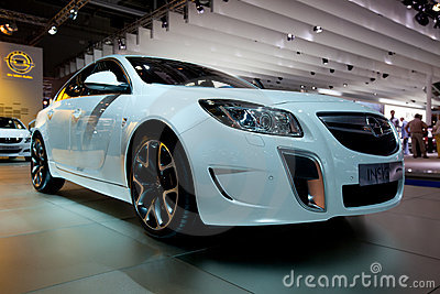 Opel Insignia car on autoshow Editorial Photo