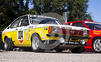 Opel Kadett GTE Editorial Photo