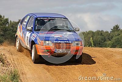 Opel Vauxhall Rallye Car Editorial Photography