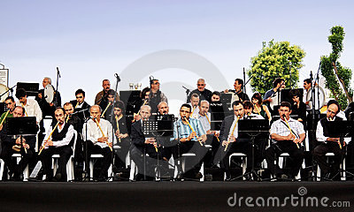 Open air concert in Istanbul Editorial Photography