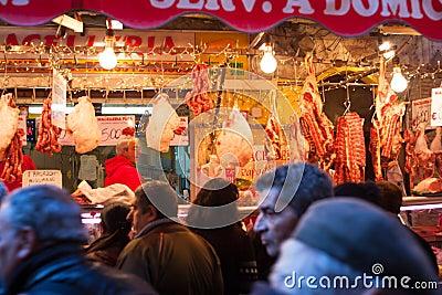 Open-air market, Palermo