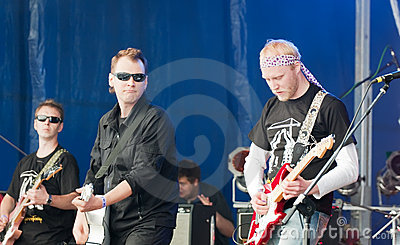 Open-air Rock Festival Stock Photo - Image: 14529020