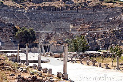 Open-air theater, Ephesus, Turkey