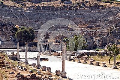Open-air theater, Ephesus, Turkey