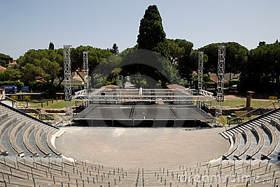Open air theater in Frejus, France