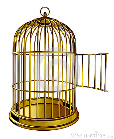Aquarium Bird Cage