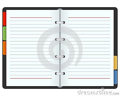 Open Blank Organizer
