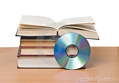 Open book  and DVD