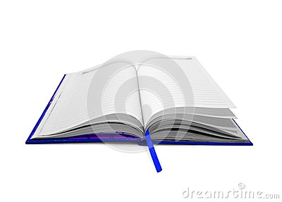 Open book page