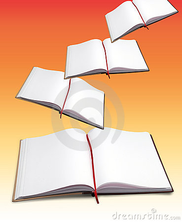Free Open Books Stock Image - 3440171