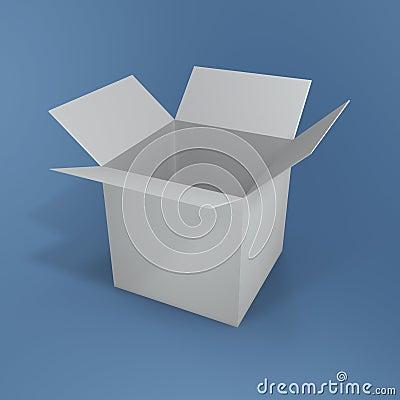 Open box