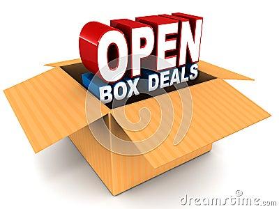 Open box deal