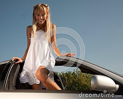 Open car