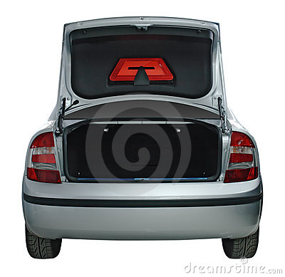 Free Open Car Trunk Stock Images - 4756274