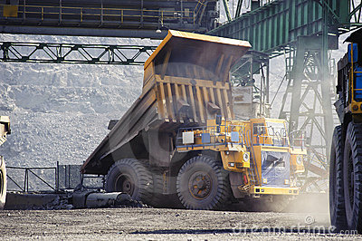 Open-cast Mine On Extraction Stock Photos - Image: 15196193