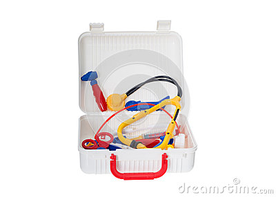 Open Child Medical Kit