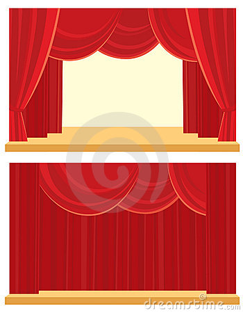 Open and closed the curtain