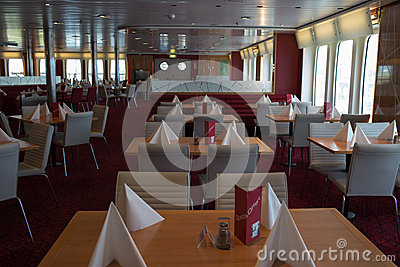 Open day on the ferry Stena Spirit. Editorial Image