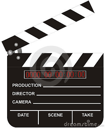 Open Digital Movie Clapboard