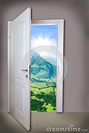 Free Open Door Stock Photos - 48766503