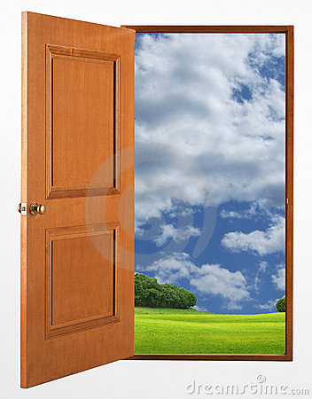 Free Open Door Stock Image - 8376971