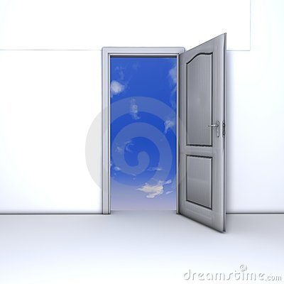 The open door of opportunity