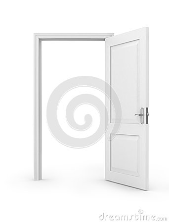 Free Open Door Over Royalty Free Stock Images - 45415999