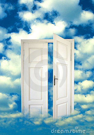 Open door in the sky