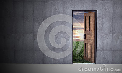Open door to new life
