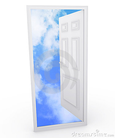 Free Open Door To The Sky Royalty Free Stock Photo - 7303975