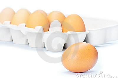 Open eggbox